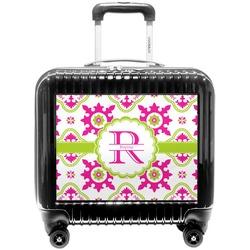 Suzani Floral Pilot / Flight Suitcase (Personalized)
