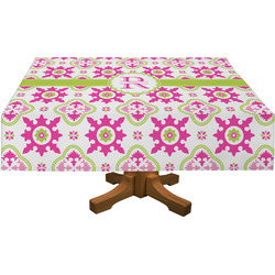 Suzani Floral Rectangle Tablecloth (Personalized)