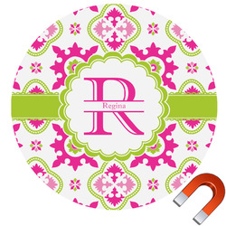 Suzani Floral Car Magnet (Personalized)