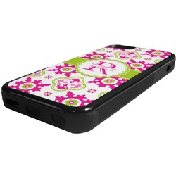 Suzani Floral Rubber iPhone 5C Phone Case (Personalized)