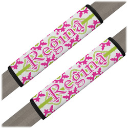 Suzani Floral Seat Belt Covers (Set of 2) (Personalized)