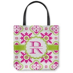 Suzani Floral Canvas Tote Bag (Personalized)