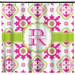 Suzani Floral Shower Curtain (Personalized)