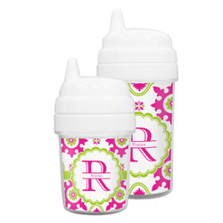 Suzani Floral Sippy Cup (Personalized)