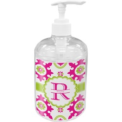 Suzani Floral Soap / Lotion Dispenser (Personalized)
