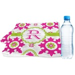 Suzani Floral Sports & Fitness Towel (Personalized)