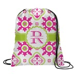 Suzani Floral Drawstring Backpack (Personalized)