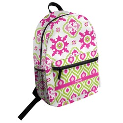 Suzani Floral Student Backpack (Personalized)