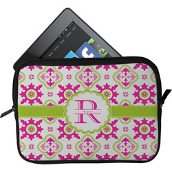 Suzani Floral Tablet Case / Sleeve (Personalized)