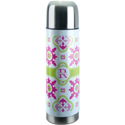 Suzani Floral Stainless Steel Thermos (Personalized)