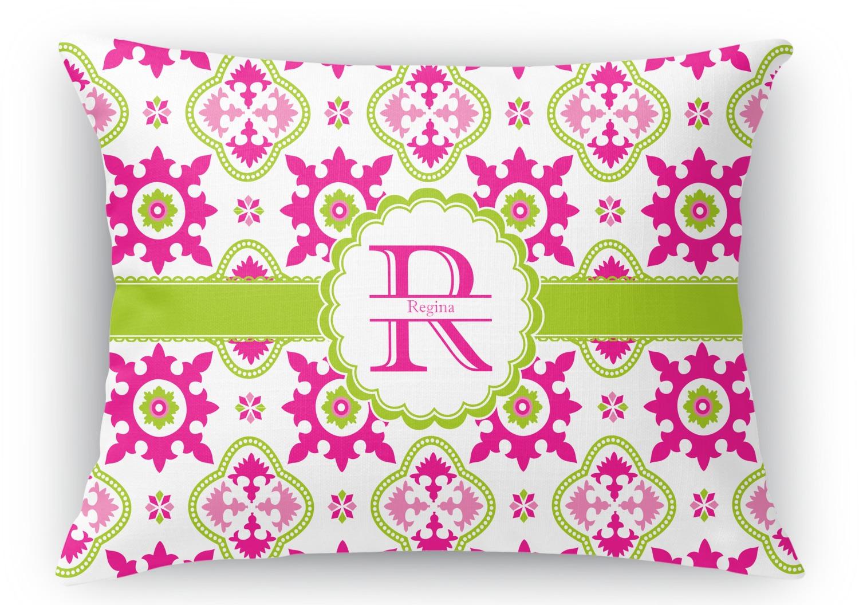 Throw Pillows 12 X 12 : Suzani Floral Rectangular Throw Pillow - 12