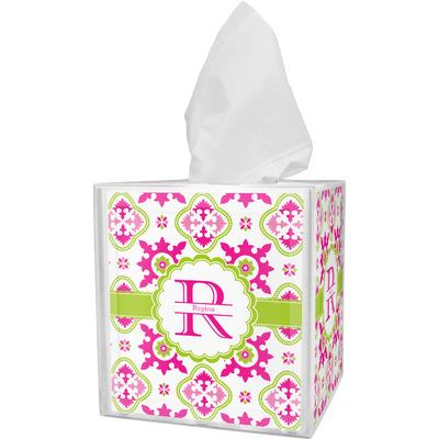 Suzani Floral Tissue Box Cover (Personalized)