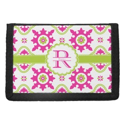 Suzani Floral Trifold Wallet (Personalized)
