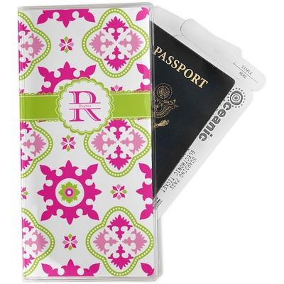 Suzani Floral Travel Document Holder