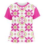 Suzani Floral Women's Crew T-Shirt (Personalized)