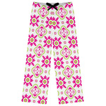 Suzani Floral Womens Pajama Pants (Personalized)