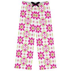 Suzani Floral Womens Pajama Pants (Personalized)
