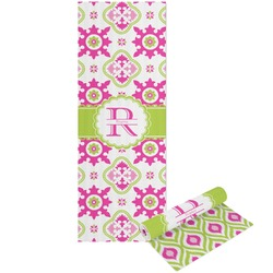 Suzani Floral Yoga Mat - Printable Front and Back (Personalized)