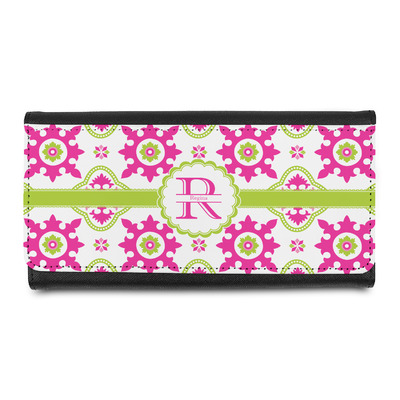 Suzani Floral Leatherette Ladies Wallet (Personalized)