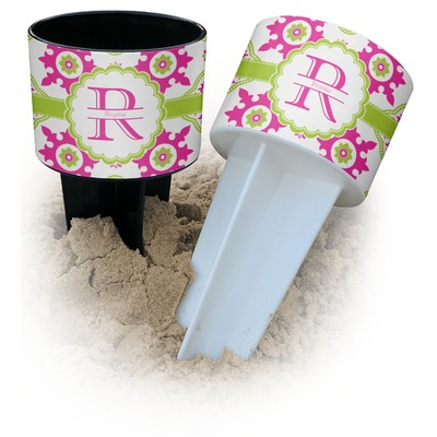 Suzani Floral Beach Spiker Drink Holder (Personalized)