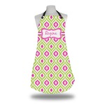 Ogee Ikat Apron (Personalized)