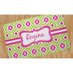 Ogee Ikat Area Rug (Personalized)