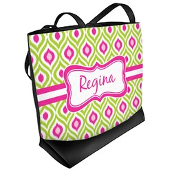Ogee Ikat Beach Tote Bag (Personalized)