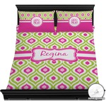 Ogee Ikat Duvet Cover Set (Personalized)