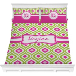 Ogee Ikat Comforter Set (Personalized)