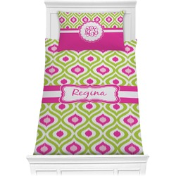 Ogee Ikat Comforter Set - Twin XL (Personalized)