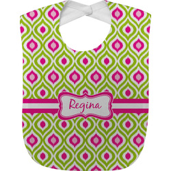 Ogee Ikat Baby Bib (Personalized)