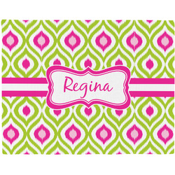 Ogee Ikat Placemat (Fabric) (Personalized)