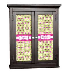 Ogee Ikat Cabinet Decal - Large (Personalized)