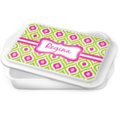 Ogee Ikat Cake Pan (Personalized)