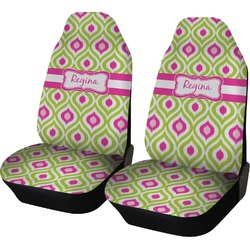 Ogee Ikat Car Seat Covers (Set of Two) (Personalized)