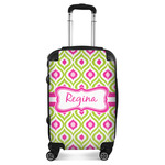 Ogee Ikat Suitcase (Personalized)