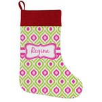 Ogee Ikat Holiday Stocking w/ Name or Text