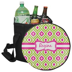 Ogee Ikat Collapsible Cooler & Seat (Personalized)