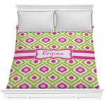 Ogee Ikat Comforter (Personalized)