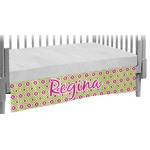 Ogee Ikat Crib Skirt (Personalized)
