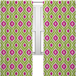 Ogee Ikat Curtains (2 Panels Per Set) (Personalized)