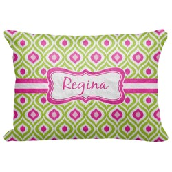 """Ogee Ikat Decorative Baby Pillowcase - 16""""x12"""" (Personalized)"""