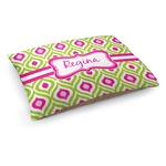 Ogee Ikat Dog Bed (Personalized)
