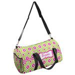Ogee Ikat Duffel Bag (Personalized)