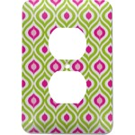 Ogee Ikat Electric Outlet Plate (Personalized)