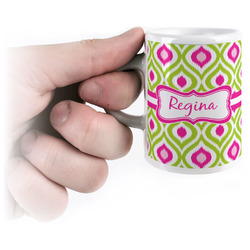 Ogee Ikat Espresso Cups (Personalized)