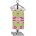 Ogee Ikat Finger Tip Towel - Full Print (Personalized)