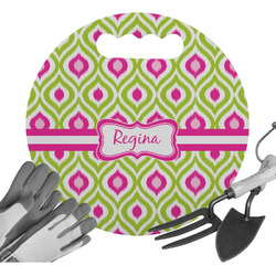 Ogee Ikat Gardening Knee Cushion (Personalized)