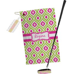 Ogee Ikat Golf Towel Gift Set (Personalized)
