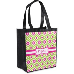 Ogee Ikat Grocery Bag (Personalized)
